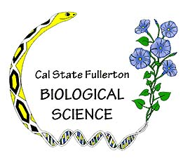 CSUF Bio Department Logo