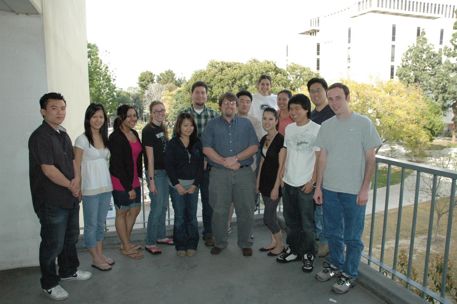picture of Walker's Lab Group 2008